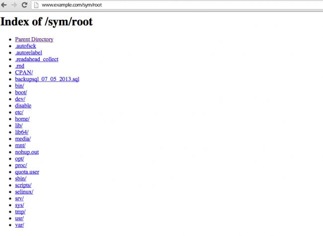 Vulnerable Symlink Attack And Its Prevention Server Management
