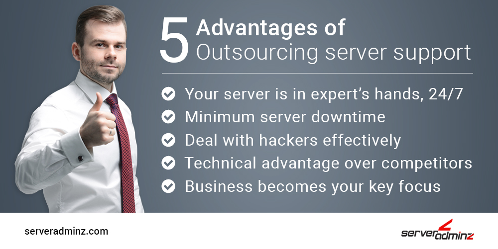 5 Advantages of Outsourcing Server Support
