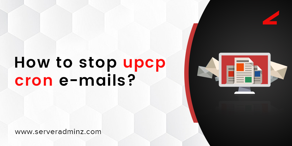 How to stop upcp cron e-mails
