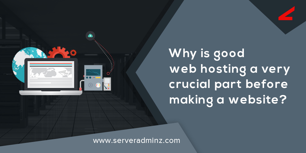 role of web hosting in creating a website.