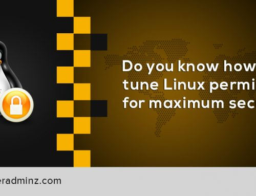 How To Tune Linux Permission For Maximum Security?