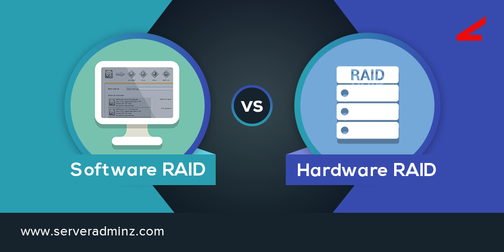What are the differences between a Software RAID and hardware RAID