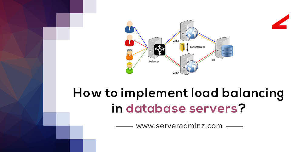 How to implement load balancing in database servers