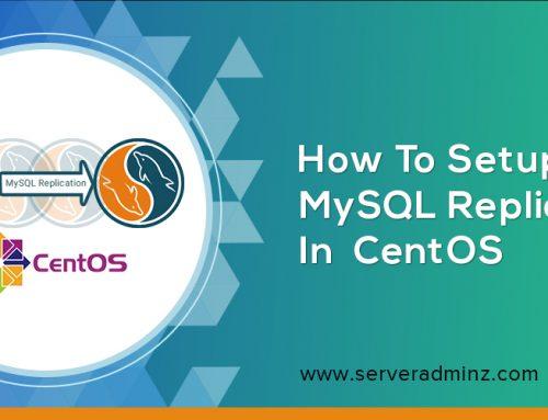 How To Setup MySQL Replication In  CentOS?