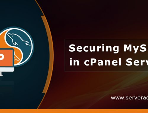 How To Secure MySQL In cPanel Servers?