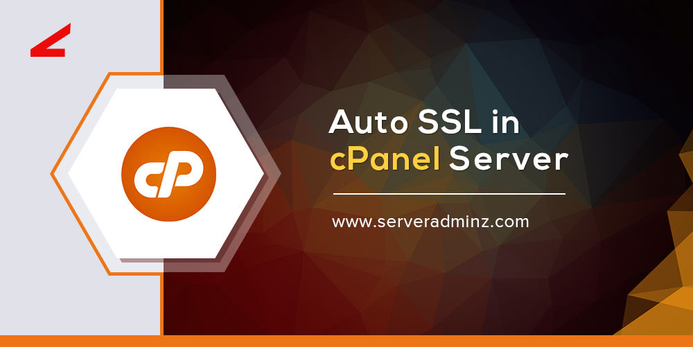Auto SSL in cPanel Server