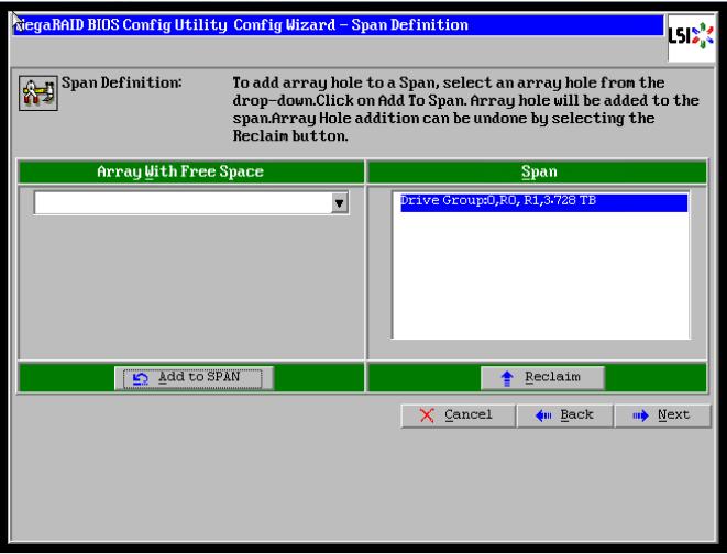 How to configure H/W RAID in LSI MegaRaid BIOS Config Utility