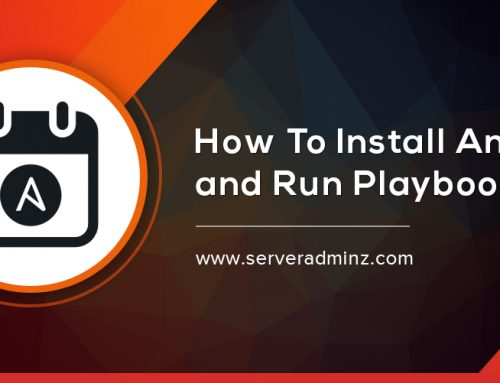 How To Install Ansible And Run Playbook ?