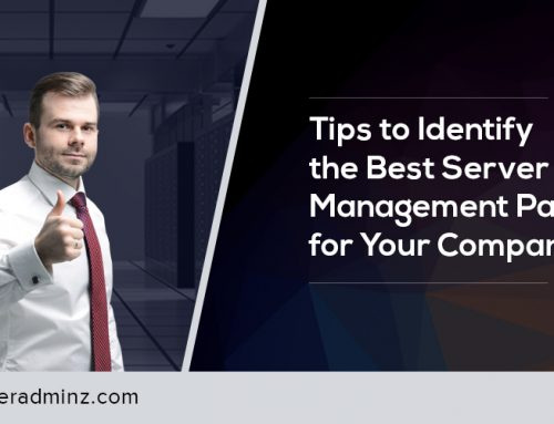 How to Identify a Server Management Partner for your company?