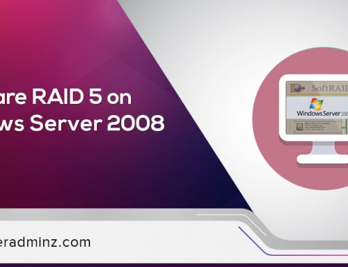 How to configure software RAID 5 on Windows Server 2008 ?