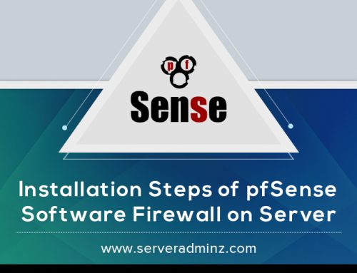 How to install pfSense software firewall on server ?