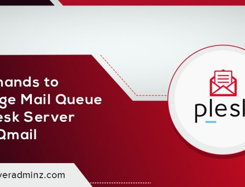 How to manage mail queue on Plesk server with Qmail ?
