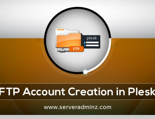 How to create FTP account in Plesk ?