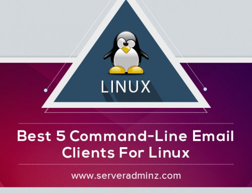 What are the best five command-line email clients for Linux ?