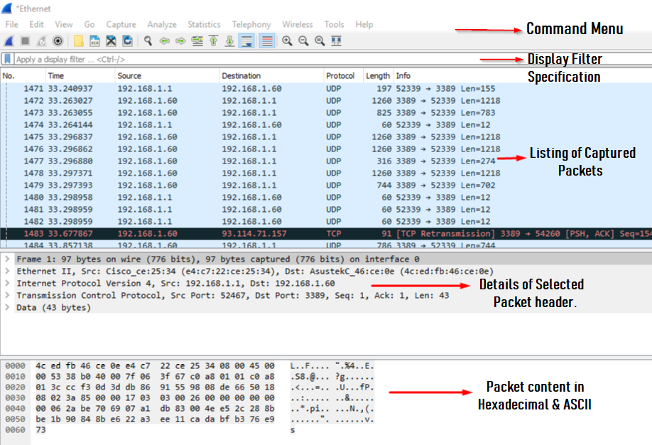 Getting started with WIRESHARK - Server Management Company Cloud NOC