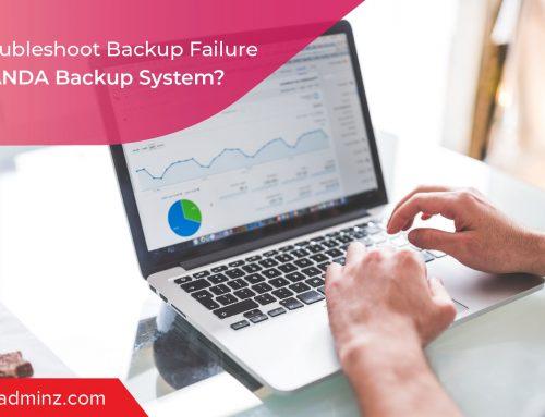 How To Troubleshoot Backup Failure Using AMANDA Backup System?