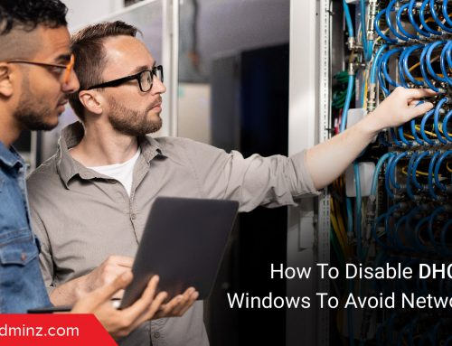 How To Disable DHCP Client In Windows To Avoid Network Issues?