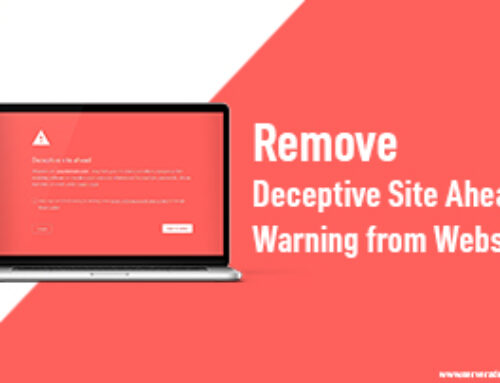 Remove Deceptive Site Ahead Warning from Website