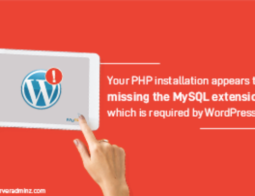 {Solved} Your PHP Installation Appears to be Missing the MySQL Extension Which is Required by WordPress