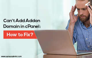 Can't add addon domain in cPanel