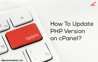 update PHP version on cPanel